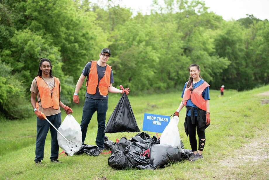 The 2019 River, Lakes Bays N' Bayous Trash Bash was held on March 30. The Trash Bash is a volunteer effort to help clean up the Galveston Bay Watershed. Photo: Jared Daum