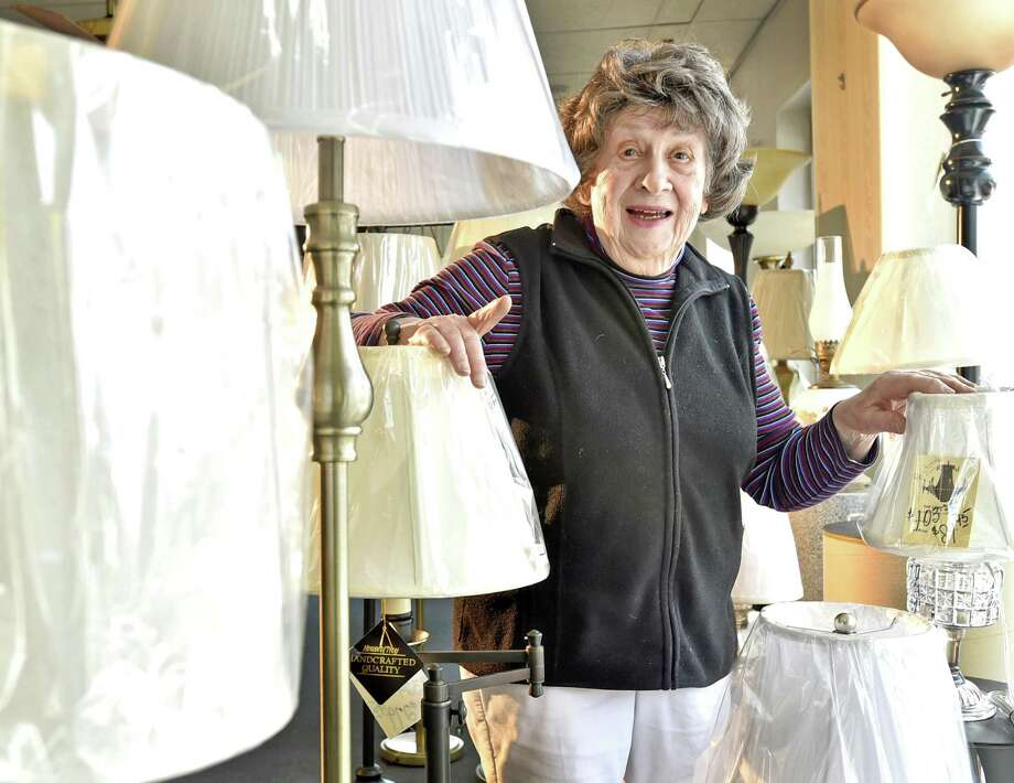 Jackie Kaywood, owner of the Lamp Shoppe in Hamden. Photo: Peter Hvizdak / Hearst Connecticut Media / New Haven Register