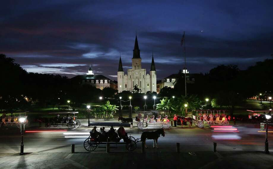 New Orleans is proud of its history, food and quirks. The St. Louis Cathedral, above, is the symbolic heart of the city. Photo: Mario Tama, Staff / Getty Images / 2015 Getty Images