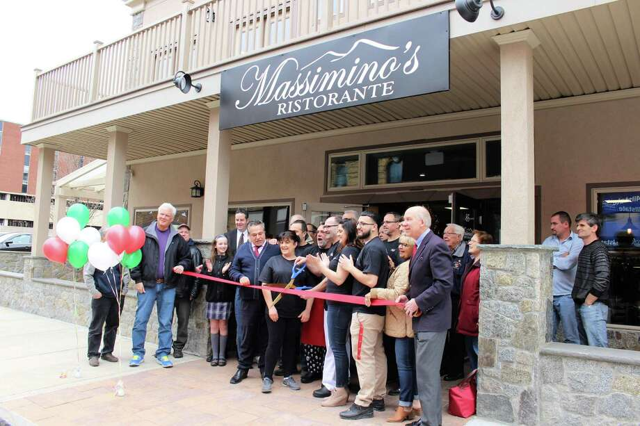 Massimino's Ristorante has opened in a new location on Main Street in Ansonia. Photo: Jean Falbo-Sosnovich / For Hearst Connecticut Media