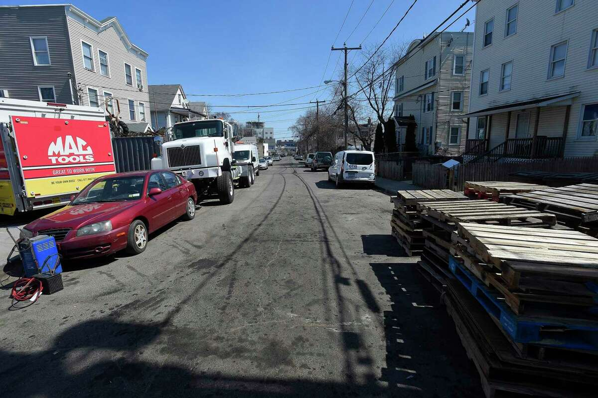 A view of Taft Avenue on Thursday, April 4, 2019 in Stamford, Connecticut. According to the City of Stamford's website, 11 streets are set to be paved this year with Taft listed among five streets that are slated to be re-paved in their entirety.