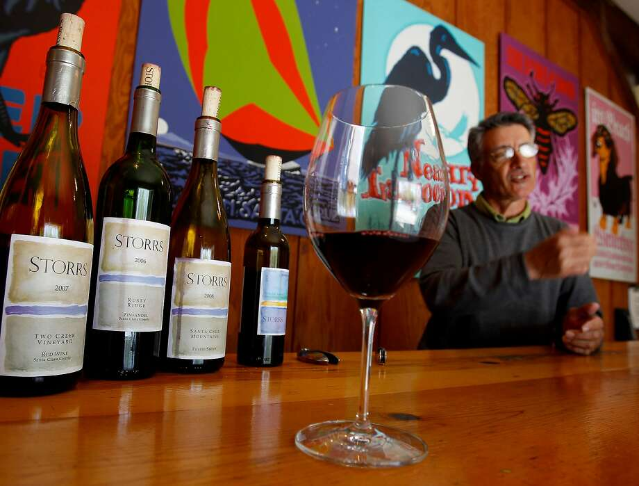 Storrs Winery's tasting room is one of several that attracts tourists in the Santa Cruz area. Photo: Brant Ward / The Chronicle