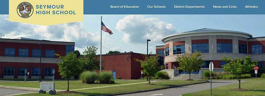 A screenshot of the Seymour High School website. Photo: Contributed Photo / Contributed Photo / Connecticut Post Contributed