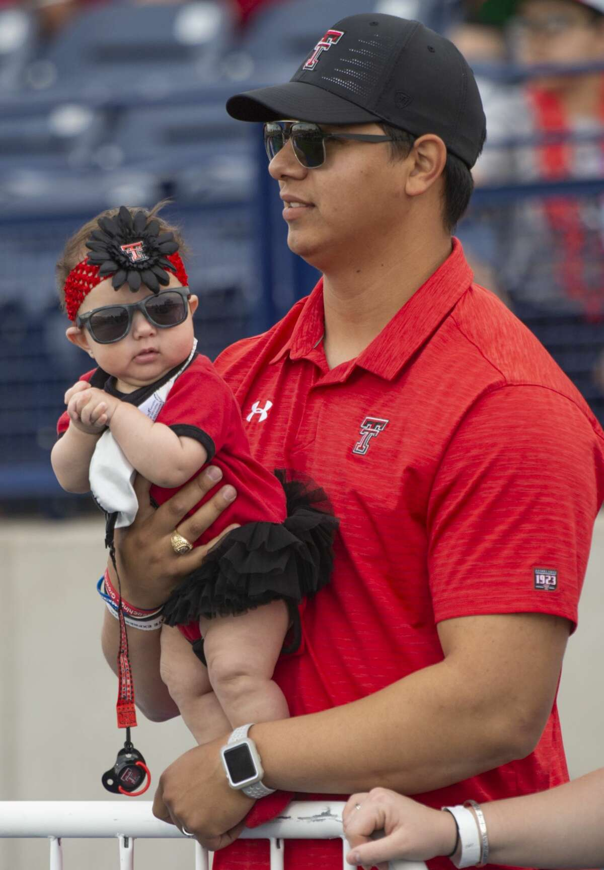 Texas Tech fans of all ages were out 04/05/19 at the annual football scrimmage at Grande Communications Stadium. Tim Fischer/Reporter-Telegram