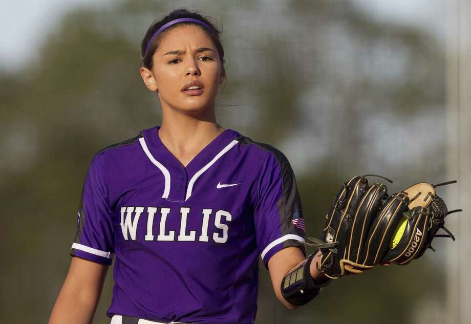 FILE PHOTO — Willis pitcher Ashely Vallejo recorded 14 strikeouts during a 6-0 victory over Montgomery on Friday night. Photo: Jason Fochtman, Houston Chronicle / Staff Photographer / © 2019 Houston Chronicle