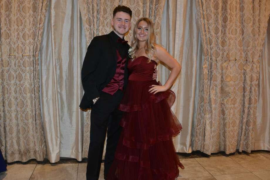 Notre Dame West Haven held its prom at the Aqua Turf in Plantsville on April 5, 2019. The senior class graduates on June 2. Were you SEEN at prom? Photo: Vic Eng / Hearst Connecticut Media Group