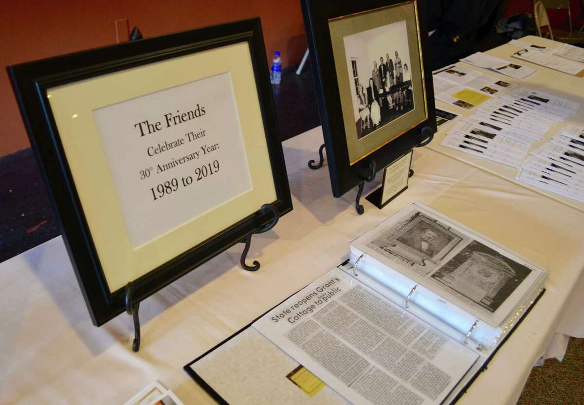 The Friends of Grant Cottage display (Photo provided)