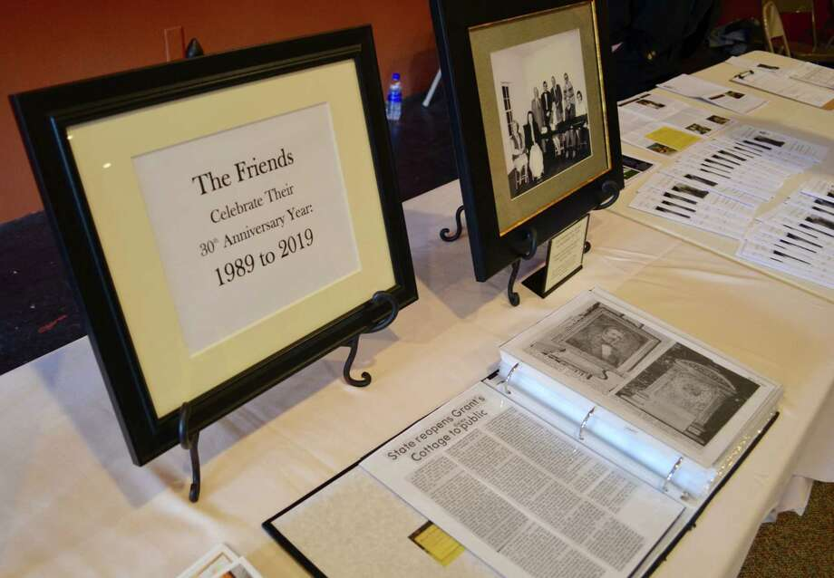 The Friends of Grant Cottage 30th Anniversary display (Photo provided)