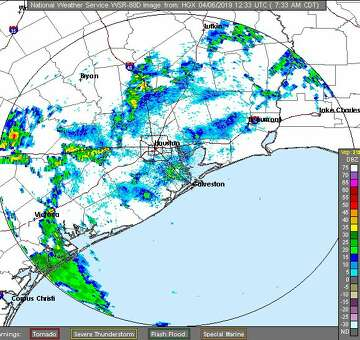 Houston weekend weather forecast: Heavy rain and possible street ...