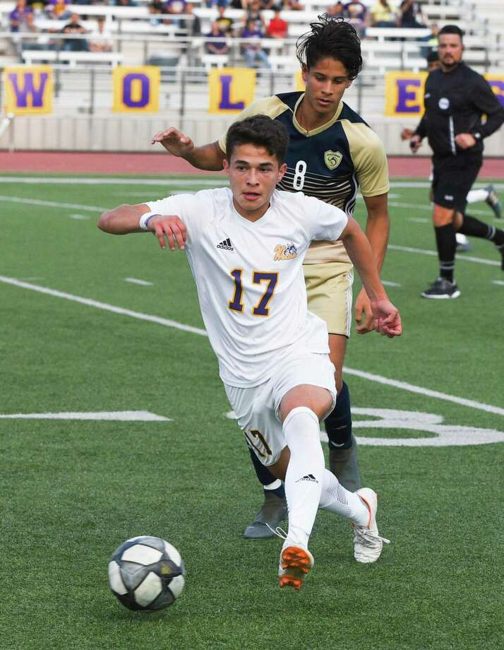 Omar Merla has two goals and an assist during his senior season at LBJ. Photo: Danny Zaragoza /Laredo Morning Times File