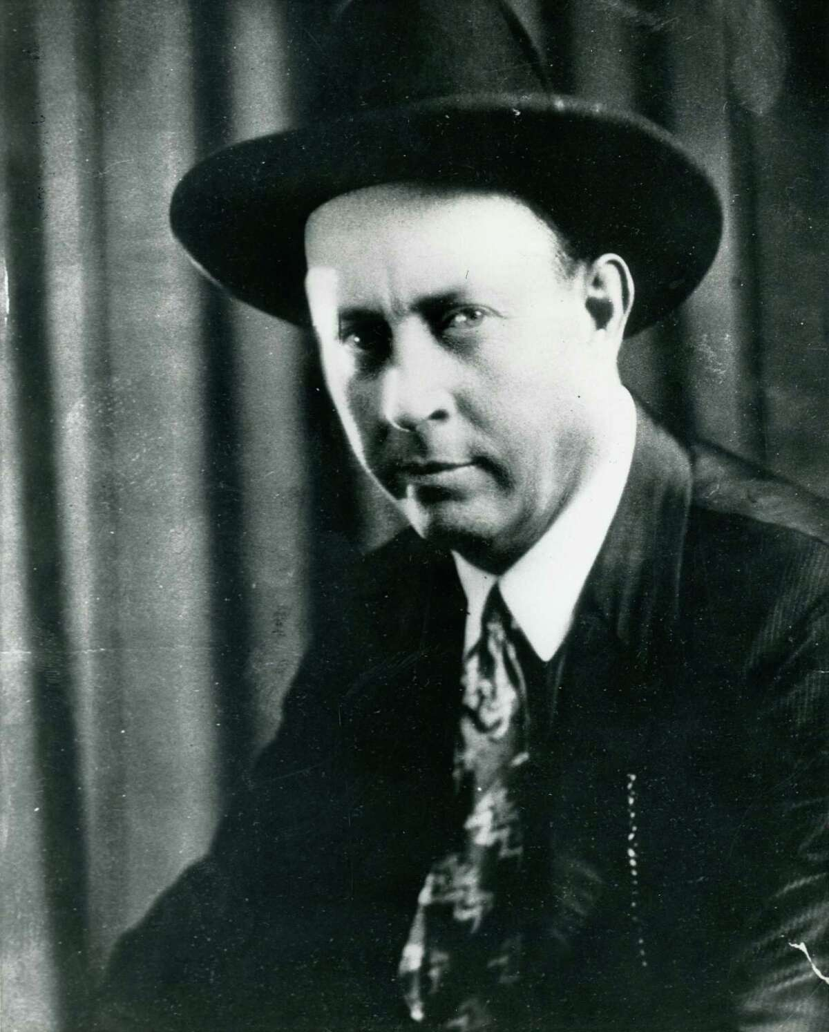 Frank Hamer, who led the posse of Texas officers that shot and killed Clyde Barrow, the southwest's