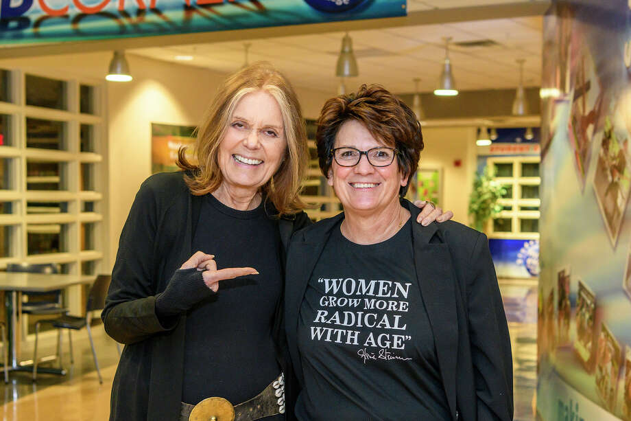 Were you Seen at An Evening with Gloria Steinem at Hudson Valley Community College on Friday, April 5, 2019, in Troy, NY? Photo: VINCENT GIORDANO For HVCC / Copyright 2019