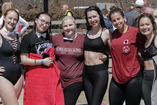 Plunge at the Park was held at Wolfe Park in Monroe on April 6, 2019. Plungers braved the cold waters of Great Hollow Lake to raise money for Special Olympics Connecticut. Were you SEEN?