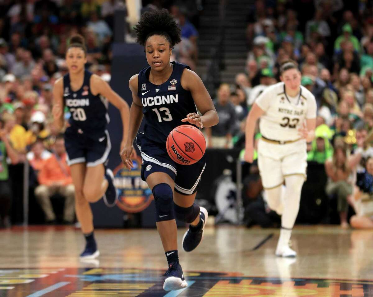 UConn's Christyn Williams was chosen to train this week with the USA Basketball Women's National Team.
