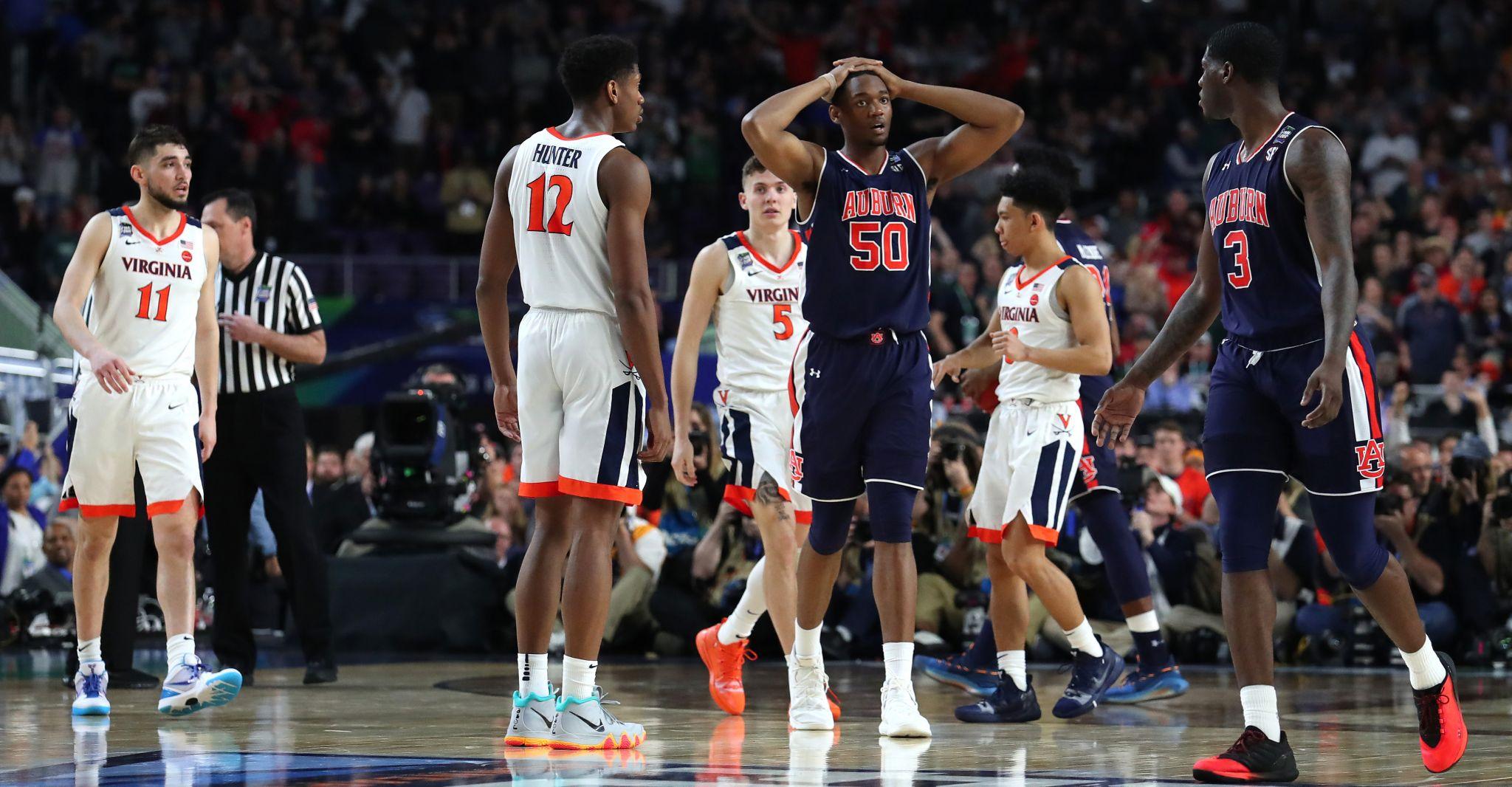 Virginia Stuns Auburn In Controversial Final Four Game