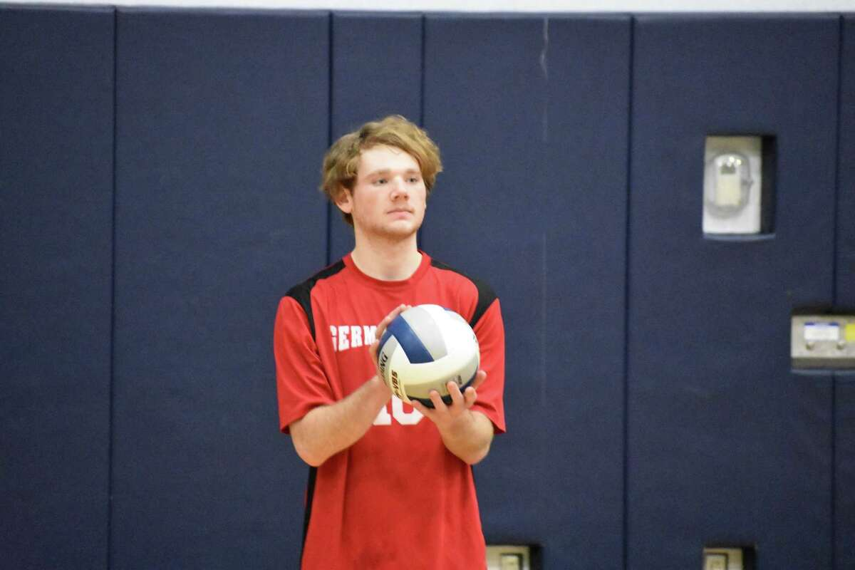 Jeremy Cosenza of the Germantown volleyball team. (Courtesy of Germantown High School)