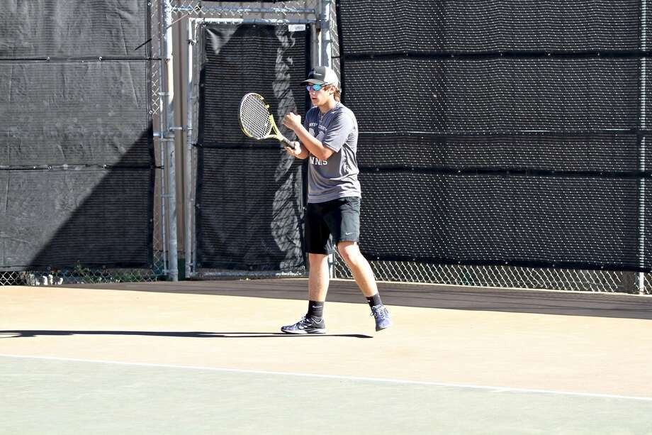 Four PCA players qualified for the state TAPPS tennis meet this week. Photo: Don Brown/For The Herald