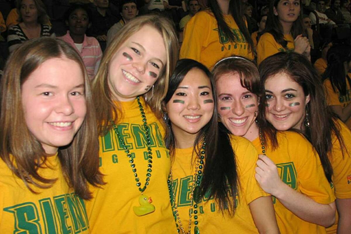Were you seen at Siena vs. Rider?