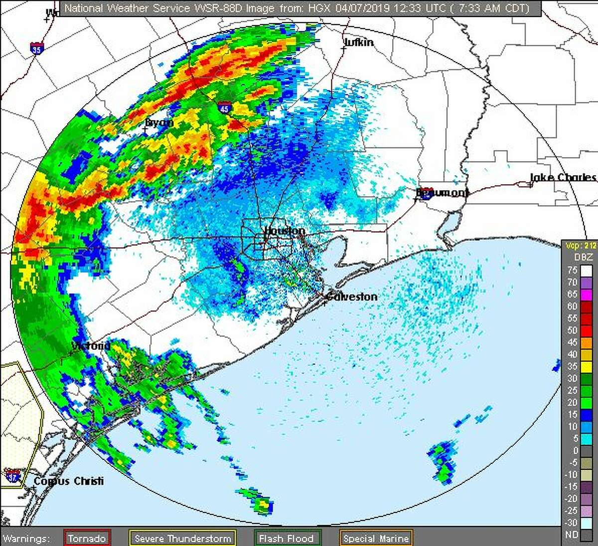 Severe thunderstorm watch issued for Houston until 3 p.m.
