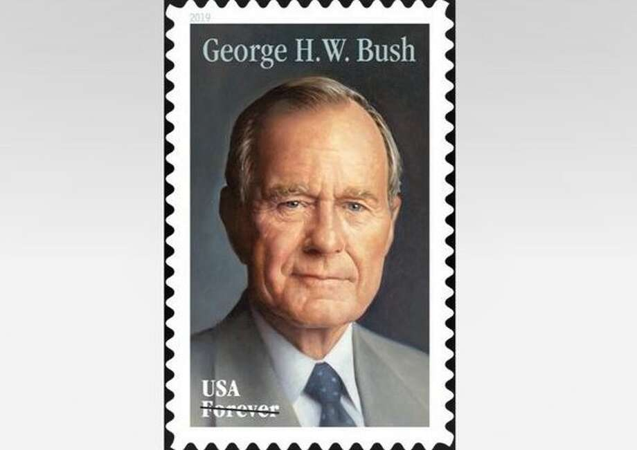 Former President George H W  Bush honored with new Forever Stamp