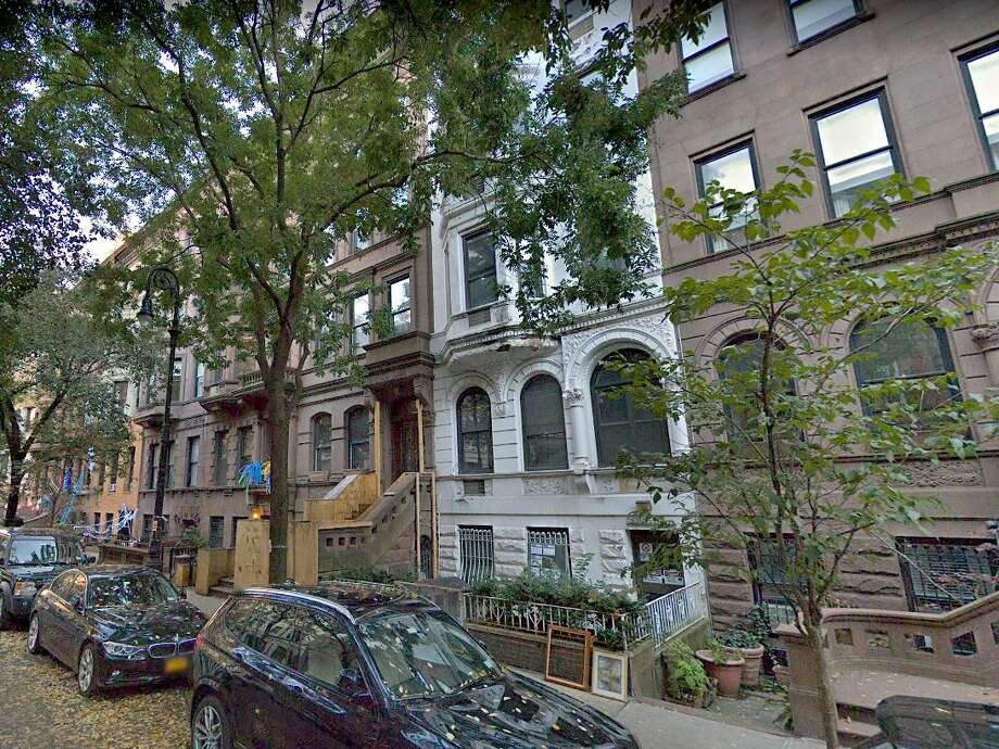 West 69th Street in New York City has been subjected to construction noise for months as a millionaire couple builds a pool for their brownstone. Photo: Google Street View