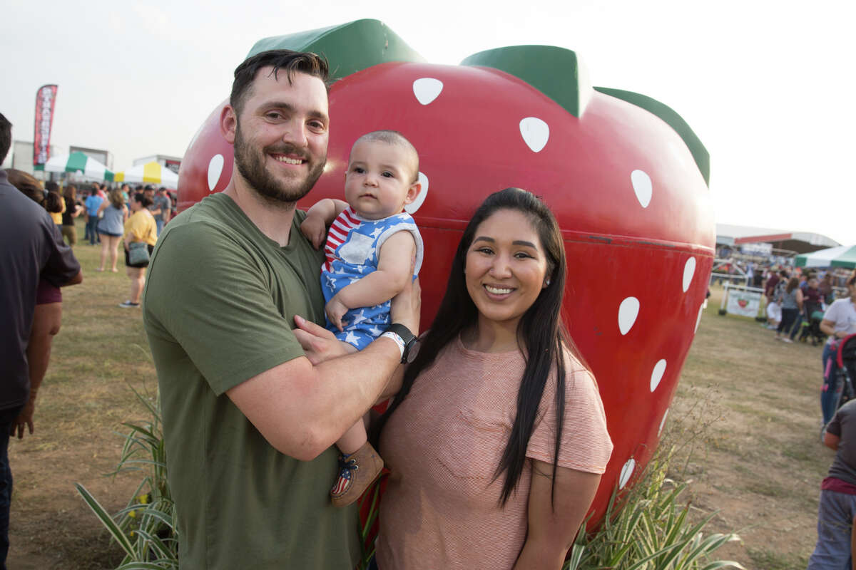 Strawberry lovers drove to the Artesian Belt to celebrate the fruit at the Poteet Strawberry Festival on Saturday, April 6, 2019.