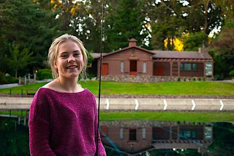 15-year-old world-champion fly caster Maxine McCormick will stage a demonstration at the Golden Gate Casting Pools in San Francisco's Golden Gate Park.