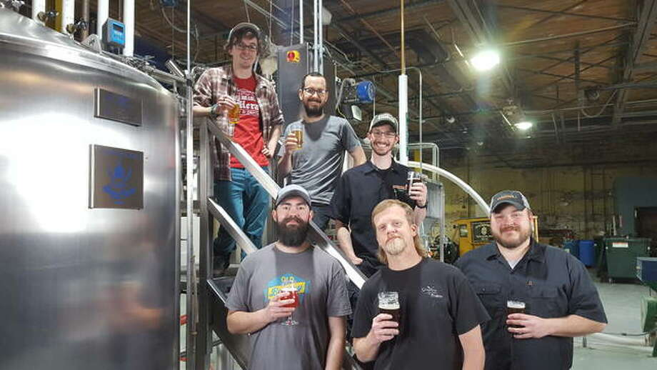 Top Row: Tor O'Brien of Old Herald Brewery & Distillery; James Rogalsky of Old Bakery Beer Company; and Jeff Muhlrad of Peel Brewing Company. Bottom Row: Tracy Hutton of Recess Brewery; Jason Wood of Grafton Winery & Brewhaus; and Brandon Valentine of Peel Brewing Company. Photo: For The Intelligencer