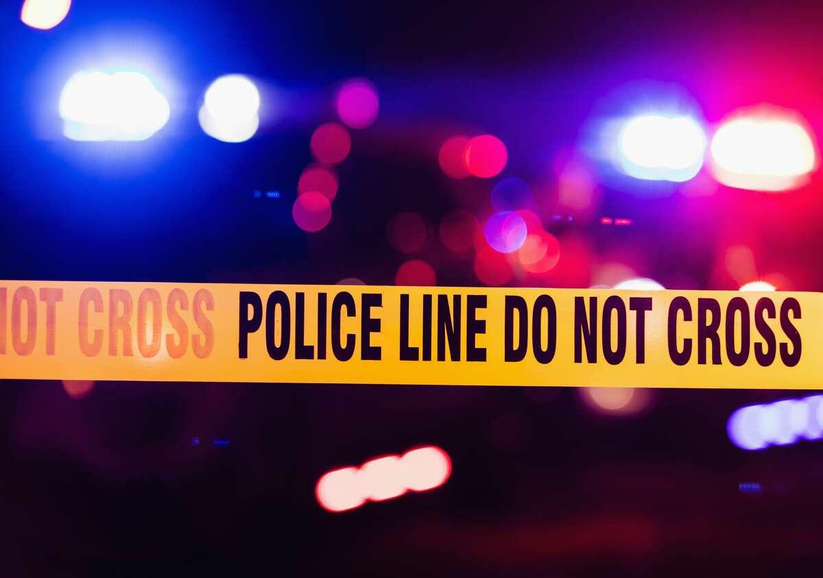 Stock photo of a crime scene.