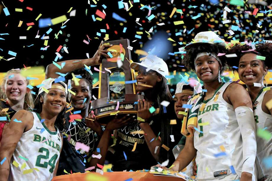 The Baylor Lady Bears seized their first NCAA Tournament title since 2012 on Sunday when they faced down Notre Dame. Photo: Mike Ehrmann / 2019 Getty Images