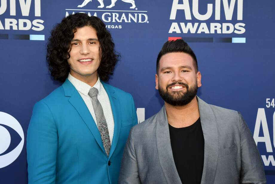 Grammy-winning duo Dan + Shay are coming to San Antonio for their first-ever headlining arena tour next year. Photo: Ethan Miller/Getty Images