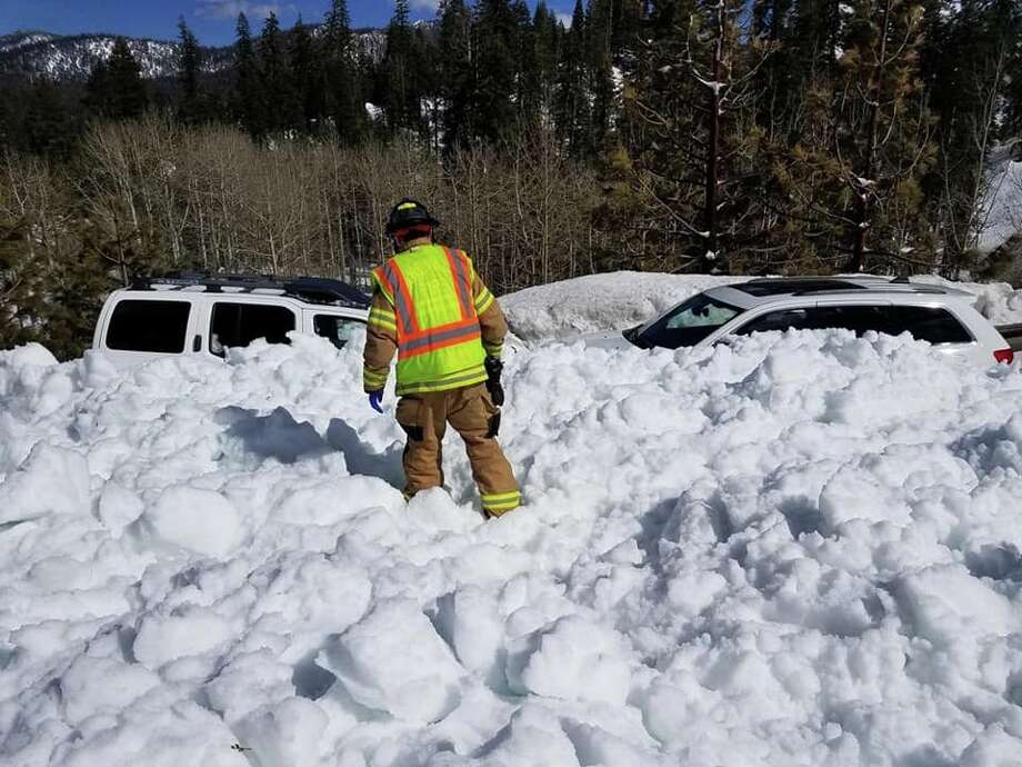 'Largest Snow Slide Of The Season' Closes Highway 50 In