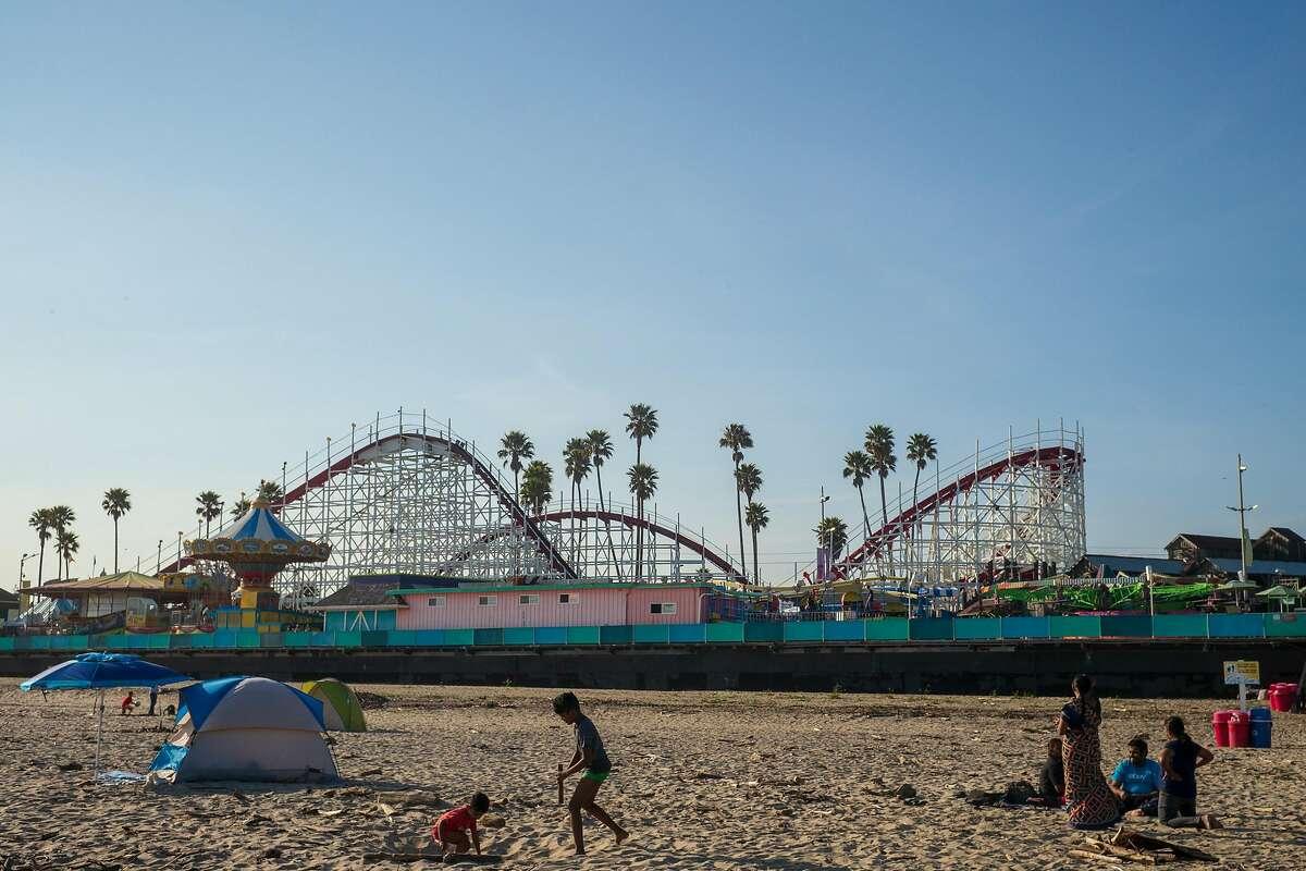Santa Cruz Beach Boardwalk in Santa Cruz, Calif. on April 7, 2019.