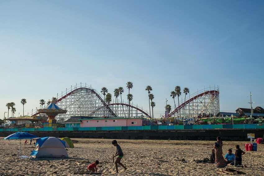 The Santa Cruz Beach Boardwalk has partially reopened.