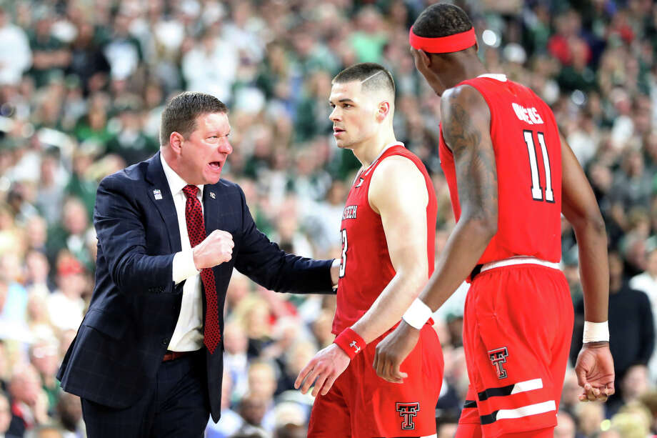 PHOTOS: Highest-paid college basketball coaches in the country Texas Tech head basketball coach Chris Beard talks with Matt Mooney (13) and Tariq Owens (11) during the NCAA Division I Men's Basketball semifinal against Michigan State April 6, 2019, in Minneapolis, Minnesota. Browse through the photos above to see where your school's college basketball coach's salary ranks ... Photo: James Durbin / Midland Reporter-Telegram / © 2019 All Rights Reserved