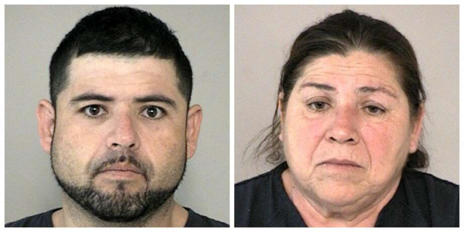 Jaime Javier Rodriguez, 32, and Laura Cano Rodriguez, 57, were arrested after troopers seized approximately 112 pounds of cocaine during a traffic stop off I-69 near Beasley. Photo: Fort Bend County Sheriff's Office