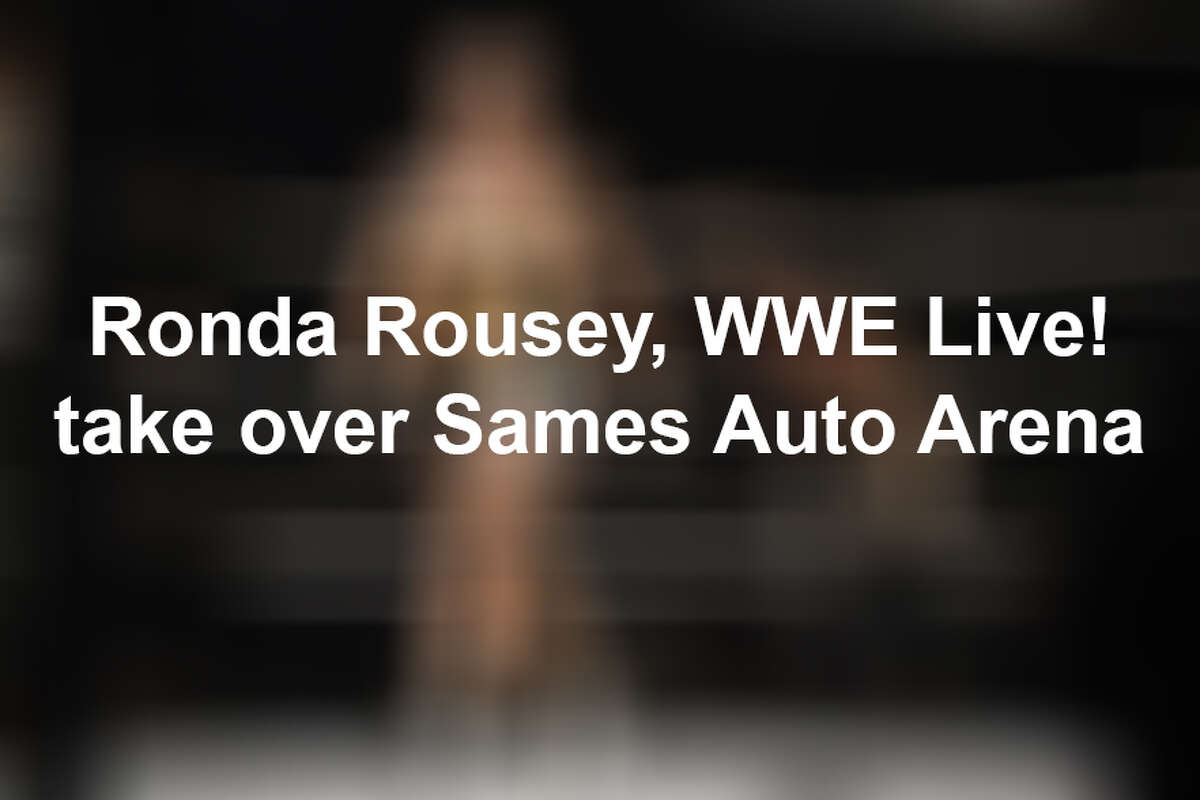 Keep scrolling to see scenes from the WWE Live Road to Wrestlemania event.
