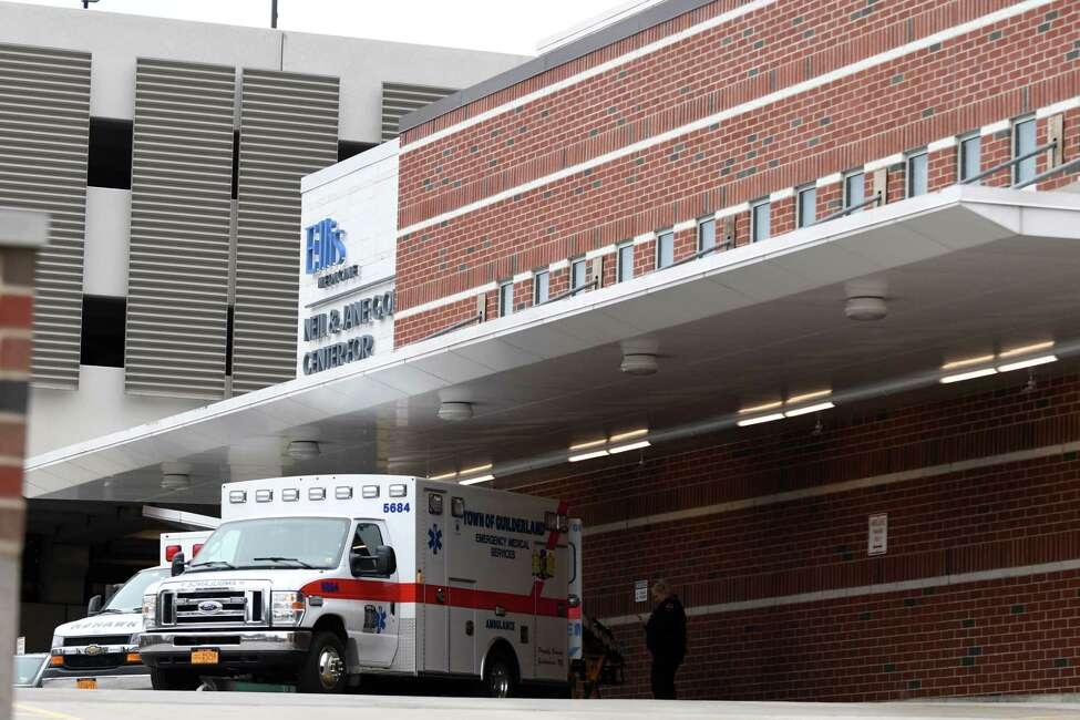 Exterior of the Ellis Hospital Emergency Department on Monday, April 8, 2019, in Schenectady, N.Y. Assemblyman Angelo Santabarbara helped to secure state funding for a pilot program to create a sensory-friendly ER for its autism patients, with hopes of easing agitation and reducing hospital stays. (Will Waldron/Times Union)