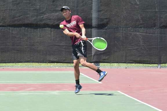 Cinco Ranch's Brian Wan was the District 19-6A boys singles runner-up, advancing to his third consecutive Region III-6A Tournament.