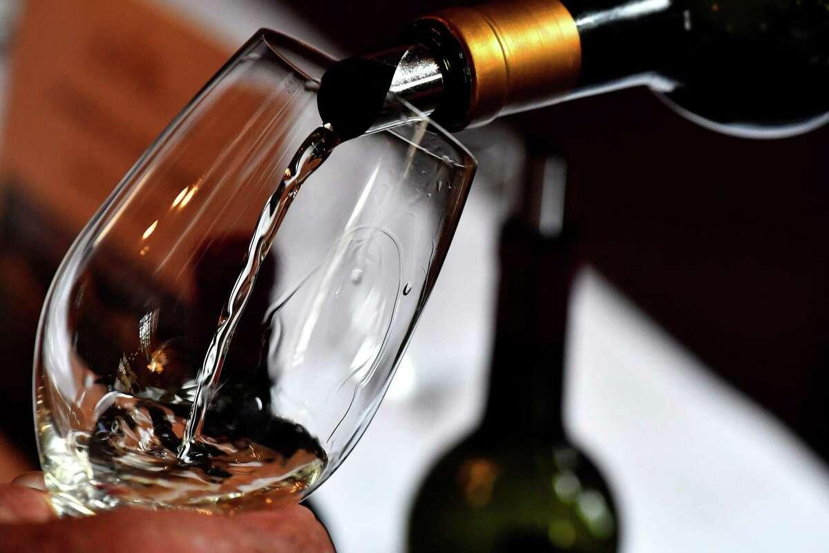 Wine tastings abound in Houston.