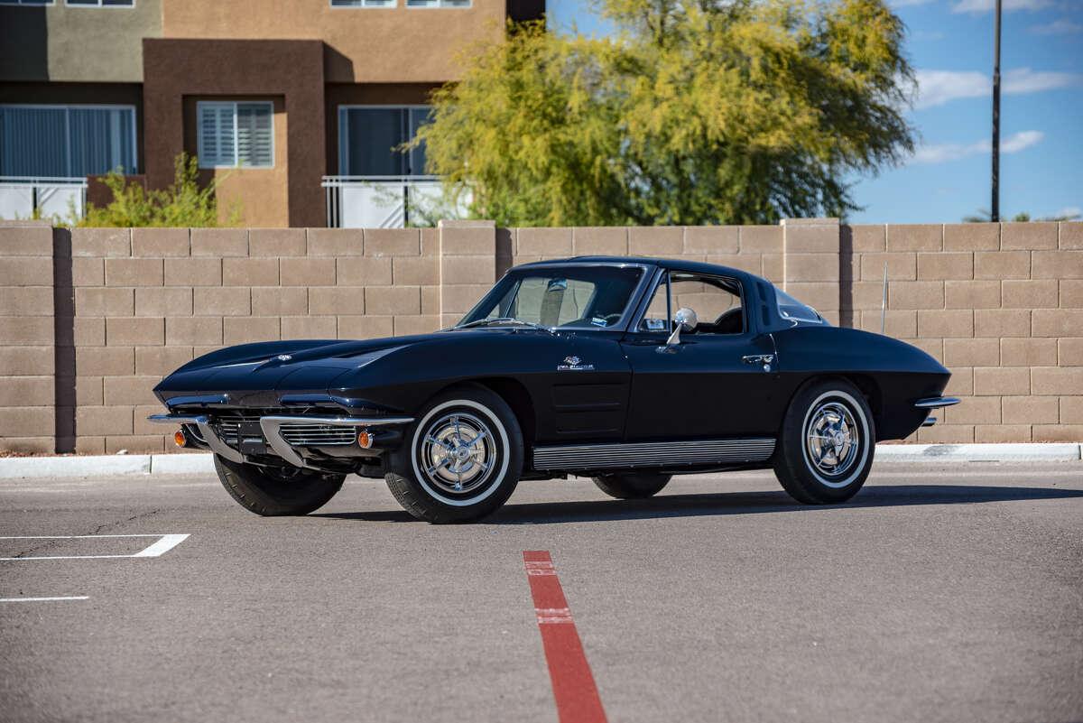 Car: 1963 Chevrolet Corvette Split Window Coupe 327/360 HP, 4-Speed Amount sold for: $121,000 Rank at Mecum Houston: 9