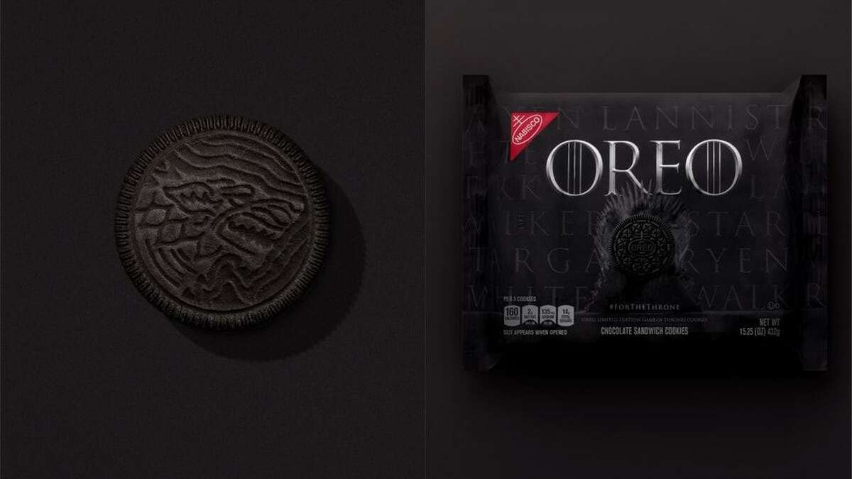 PHOTOS:'Game of Thrones' at Season 8 premiere in NYC Nabisco is releasing a special Game of Thrones Oreo. >>>See the 'Game of Thrones' cast dazzle at the Season 8 premiere in New York City ...