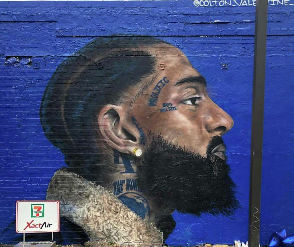 The creative minds of Supremes Sports Bar, Charles Watson and Eric McKane, collaborated with artist Colton Valentine to pay tribute to the influential rapper who was fatally shot outside his business on March 31.