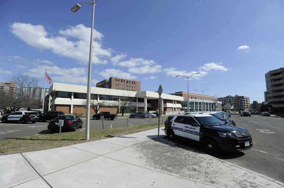 An exterior of the City of Stamford Police Services Headquarters Saturday, April 6, 2019 in Stamford, Connecticut. Photo: Matthew Brown / Hearst Connecticut Media / Stamford Advocate