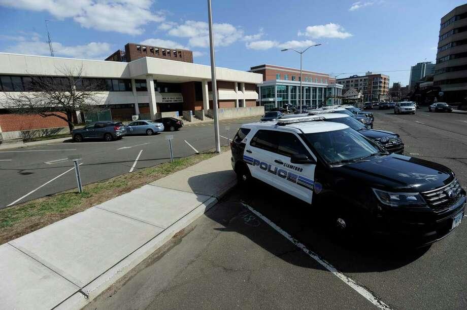 Stamford Police Photo: Matthew Brown / Hearst Connecticut Media / Stamford Advocate