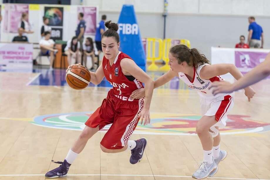 Nika Muhl, a guard from Croatia, has verbally committed to UConn Photo: Fiba.basketball / Fiba.basketball