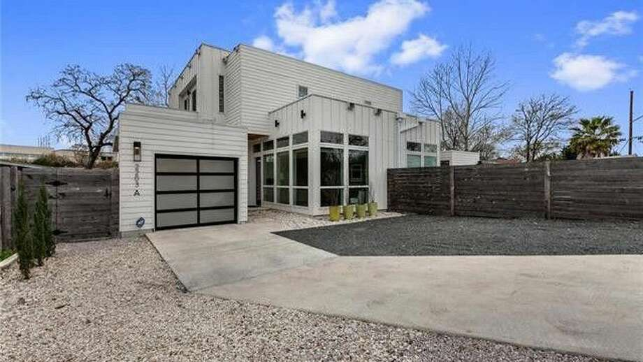 Stylish Austin home comes complete with detached shipping container unit