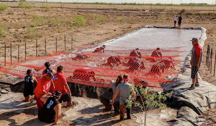 Texas Warrior Mudout is a team challenge designed to build community, according to the event's website. Teams will complete obstacles over roughly a 5k course that will rely on team skills and support. Photo: Texas Warrior Mudout