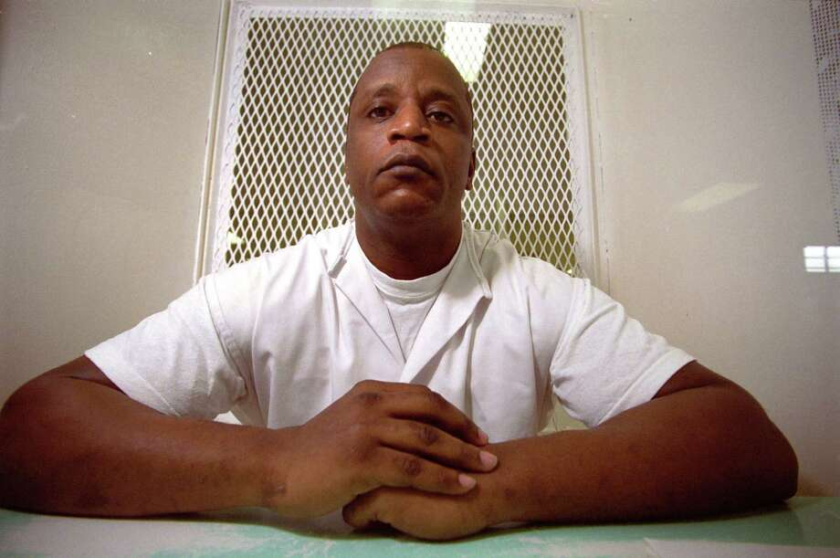 George McFarland, Texas death row inmate whose attorney slept through his 1991 capital murder trial, in 2003 during an interview at the Polansky Unit near Livingston. Photo: Steve Ueckert, Houston Chronicle / Houston Chronicle