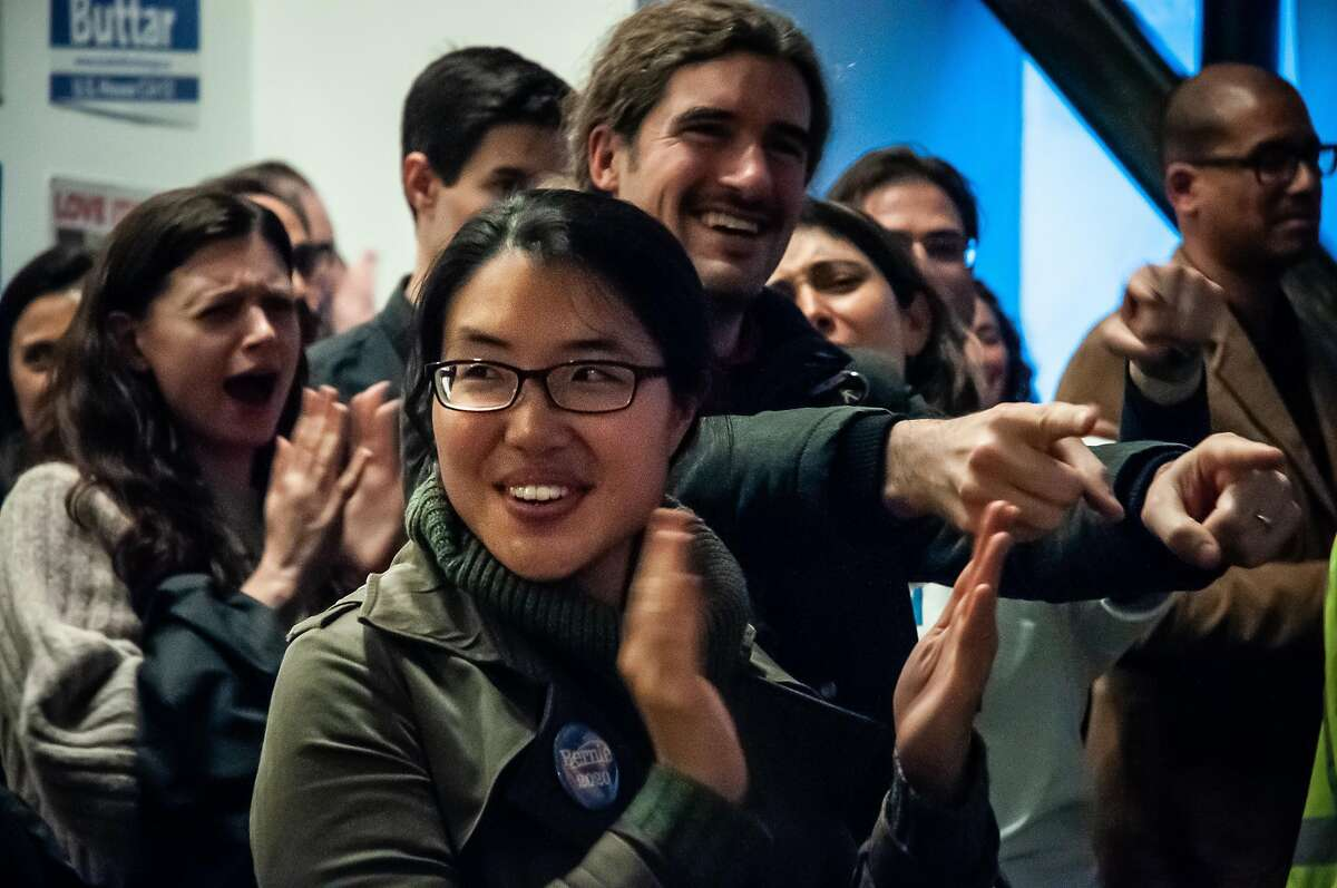 Dozens of enthusiastic supporters attended Shahid Buttar's campaign launch Wednesday April 3, 2019 at The Smoking Nun in San Francisco. Buttar is running for Congress against Nancy Pelosi.